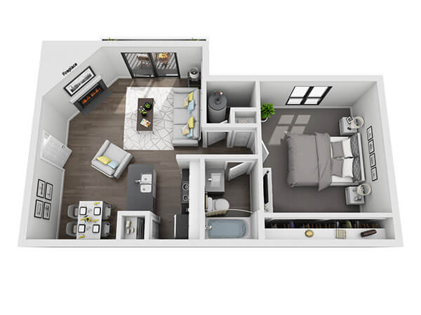 Green Rock Baldin Floor Plan