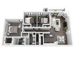 Green Rock Thurmond Floor Plan