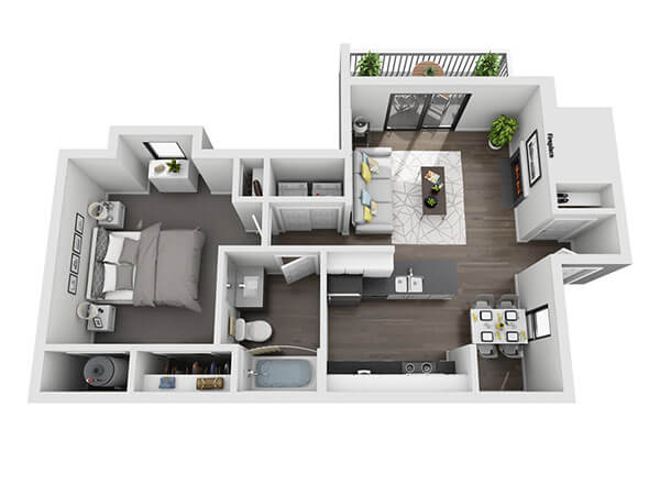 Green Rock Tillery Floor Plan